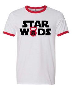 Star WODS crossfit tshirt by itssweatyweather on Etsy