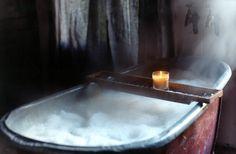 i love this tub! deep and long enough