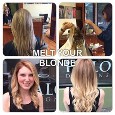 Go blonder, and keep your hair? Yes you can, with Olaplex! Color melts, but not you hair!!!