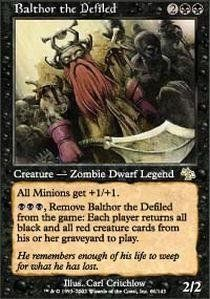Magic: the Gathering - Balthor the Defiled - Judgment - Foil Magic: the Gathering http://www.amazon.com/dp/B005Q8L3YS/ref=cm_sw_r_pi_dp_S.g1wb13V22PN