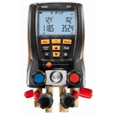 Testo 557 Refrigeration System Analyzer - excellent quality at affordable price. Made in Germany Now on Sale at: http://www.testersandtools.com/testo-557-rsa-advanced-refrigeration-system-analyzer.html
