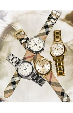 Burberry Large Check Strap Watch, 38mm (Regular Retail Price: $395.00) | Nordstrom
