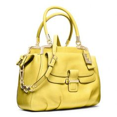 Coach Madison Pinnacle Pebbled Leather Lilly