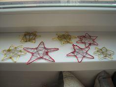 Vánoční dekorace - práce LMP žáků