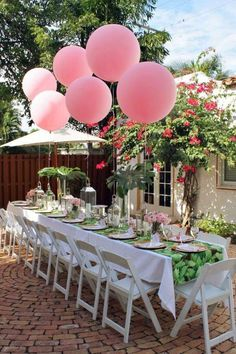 ... Summer Party Decoration - Three refreshing and colorful themes