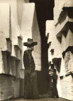 Andreas Feininger: Figurenarchitektur von Lyonel Feininger, 1971