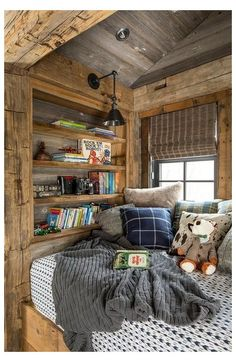 Cabin Homes, Log Homes, Rustic Kids Rooms, Rustic Nursery, Country Kids Rooms, Rustic Room, Italian Living Room, Cozy Home Decorating, Decorating Ideas