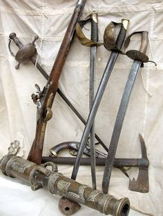Weapons of the Sweet Trade...free booters... pirates...brethren of the coast... buccaneers...pirates...