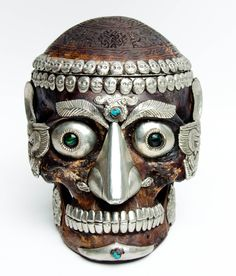 "There is no such thing as ""death"" in Tibetan Buddhist culture. There is only ""impermanence"". For many, the skull represents death. For most Buddhists, the skull or Kapala is a reminder that nothing is forever and eventually, everything is transformed into something else. Birth, life, death, re-birth, life, death, re-birth, etc."