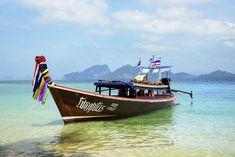 Koh Lanta: Opplev det ekte Thailand | VG Reise Krabi, Thailand, To Go, Boat, Suitcase, Viajes, Dinghy, Boats, Briefcase