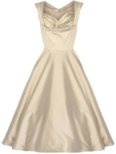 Fashion Bug Plus Size Women's Ophelia Vintage 1950's Swing Dress www.fashionbug.us