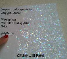 Glitter Wall Paint New Y Glitz In Crystal