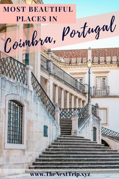 The University Square in Coimbra is beautiful to see and the perfect place to take photos early in the morning. Click to find our favorite places in Coimbra that you can't miss! #coimbra #portugal #travelguide Europe Train Travel, Europe Travel Guide, Travel Guides, Travel Tips, Portugal Travel, Spain Travel, Europe Destinations, Amazing Destinations, European Road Trip