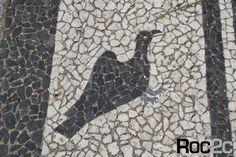 Alentejo Avis city Portugal roc2c calçada á portuguesa cor branco e preto Portuguese pavement Artistas master stone layers