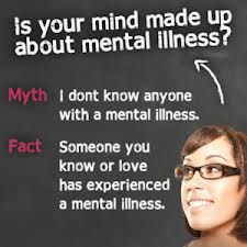 Believe it or not, chances are you know someone who has experienced mental illness. Spread awareness! #socialanxiety