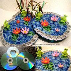 reutilizar cds filigrana