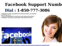 Can I Dial Facebook Support Number 1-850-777-3086 To Safe My Account From Intruder? Have you created your Facebook account recently? Don't you have any idea related to Facebook account? You know if your password is not strong, then intruders may hack into your account and might misuse it. To safeguard your account, dial Facebook Support Number 1-850-777-3086 and connect with our team of experts. For more detail visit our site…