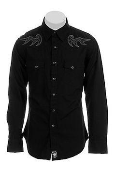Wrangler Mens Rock 47 Western Shirt MRC101X