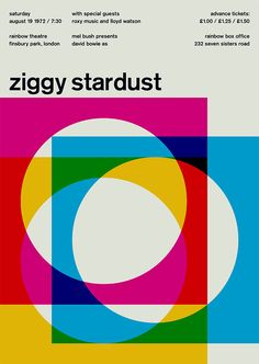ziggy stardust at rainbow theatre, 1972  #Swissted