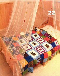 Couvertures pour bébé et leurs grilles gratuites !