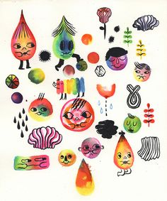 characters by Ginette Lapalme