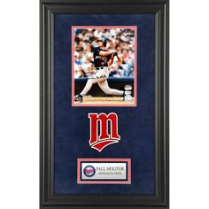 Paul Molitor Minnesota Twins Fanatics Authentic Deluxe Framed Autographed 8'' x 10'' Hitting Photograph - $169.99