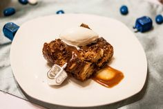 Captain Morgan Bread Pudding by I Made Dinner