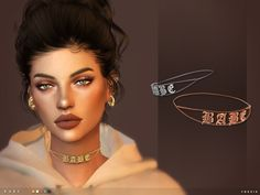 Babe Choker for The Sims 4