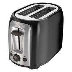 Black+decker 2-Slice Multi-Functional Toaster, Bagel Toaster, TR1278B, Black