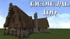 Minecraft medieval inn   medieval inntavern 2 a medieval inn tavern 2 diamonds