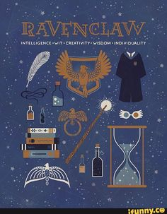Ravenclaw toujours.