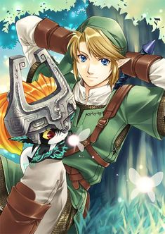 I know why, but Link looks AMAZING in this. ;)