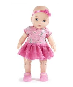 Take a look at this Baby Born Dance with Me Babydoll by Little Tikes on #zulily today!
