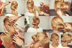 Beautiful Hair Updo - #crownbraid #braid #lowbun #bun #hairstyle #vc - bellashoot.com