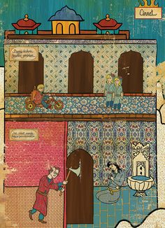 #Oriental #art meets #west #movie #icons in truly postmodern #poster #series by young #illustrator Murat Palta. #shining