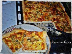 Οι λιχουδιές της Μαριφάνης: Φοβερή αφράτη πίτσα με ζυμάρι SODA WATER!!!!