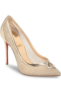 Christian Louboutin Neoalto Mesh Pump (Women) available at #Nordstrom