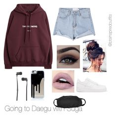 """Bts inspired outfits"" by rachelullmann03 on Polyvore featuring NIKE and Master & Dynamic"