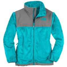 1f0c50333ea The North Face Denali Thermal Fleece Jacket - Girls  Turquoise Blue
