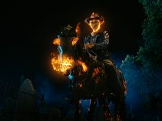 Nope, this is a ghost rider horse. - added by junkk at ghost rider horse Ghost Rider 2007, Ghost Rider Marvel, Dark Fantasy Art, Fantasy World, Marvel Avengers, Marvel Comics, Ghost Rider Wallpaper, Cowboys From Hell, Moon Knight