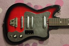retro japanese guitars - Google Search