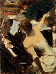 The Mondona Singer - Giovanni Boldini