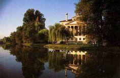 Villa Foscari detta la Malcontenta sul Naviglio del Brenta, gioiello eccelso, paradisiaco, del sommo Palladio! Dottrina dell'Architettura Architetto David Napolitano