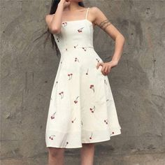 High waist retro leopard print fishtail skirt from FE CLOTHING Modest Outfits, Casual Dresses, Cool Outfits, Casual Outfits, Fashion Dresses, Summer Dresses, Aesthetic Fashion, Aesthetic Clothes, Slep Dress