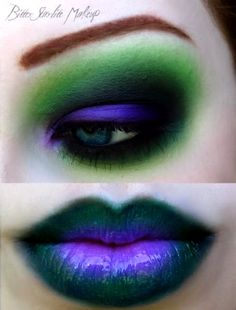 Halloween make-up ~ great for the joker
