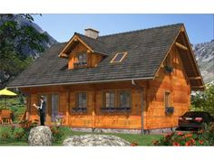 Modele de case din lemn: 3 exemple deosebite - Case practice Home Fashion, Case, Exterior, House Styles, Home Decor, Decoration Home, Room Decor, Outdoor Rooms, Home Interior Design