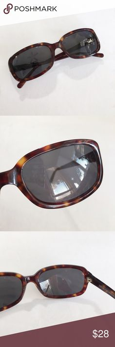 Emporio Armani Tortoise Shell Sunglasses Emporio Armani tortoise shell sunglasses. I bought them used as authentic, and have no reason to believe they are not. In very good condition. Small scratch on one lense, doesn't cause any problems.   ⭐️10% off 2+ bundle  ⭐️Smoke free home  ⭐️No stains or flaws Emporio Armani Accessories Sunglasses