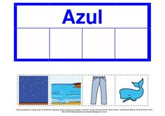 Los colores (en formato pdf). Child Development, Speech Therapy, Bar Chart, Children, Tea, Erika, Spanish, Videos, Colors