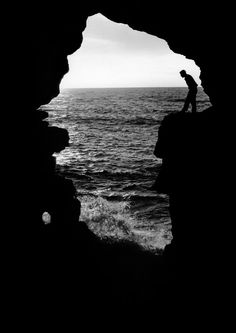 Herbert List.   MOROCCO. Tangiers. Near the Pillars of Hercules. 1955.   Magnum Photos -