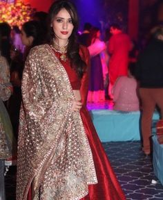 Pakistani designer Deena Rehman. Pakistani high fashion.